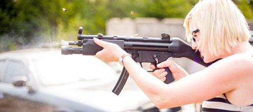 Стрельба из МР5