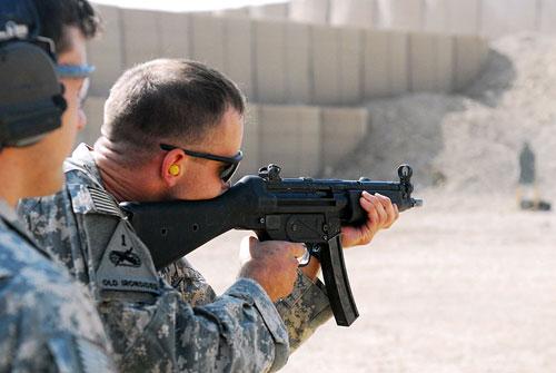 Тренировочная стрельба, U.S. Special Forces